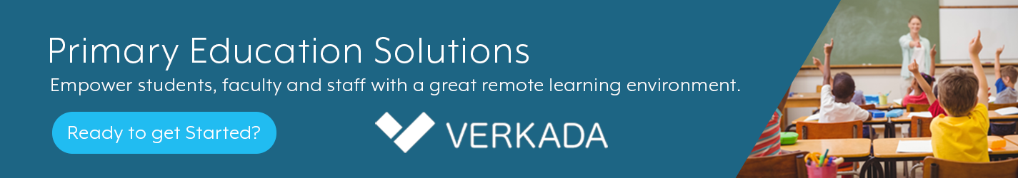 Verkada Education Banner